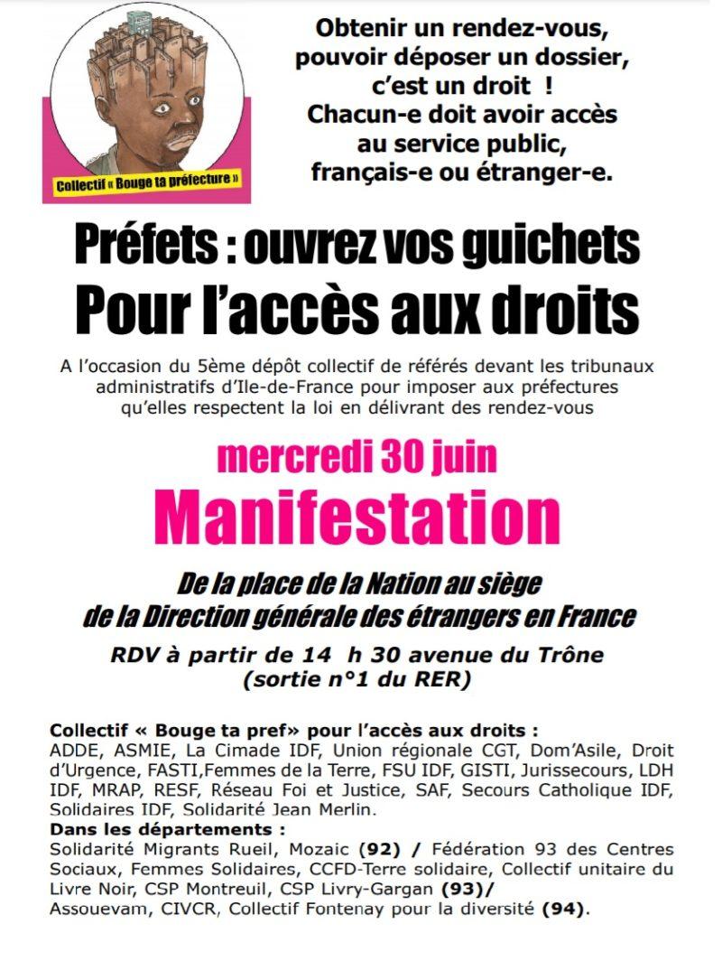 Lettre ouverte au directeur général des étrangers en France